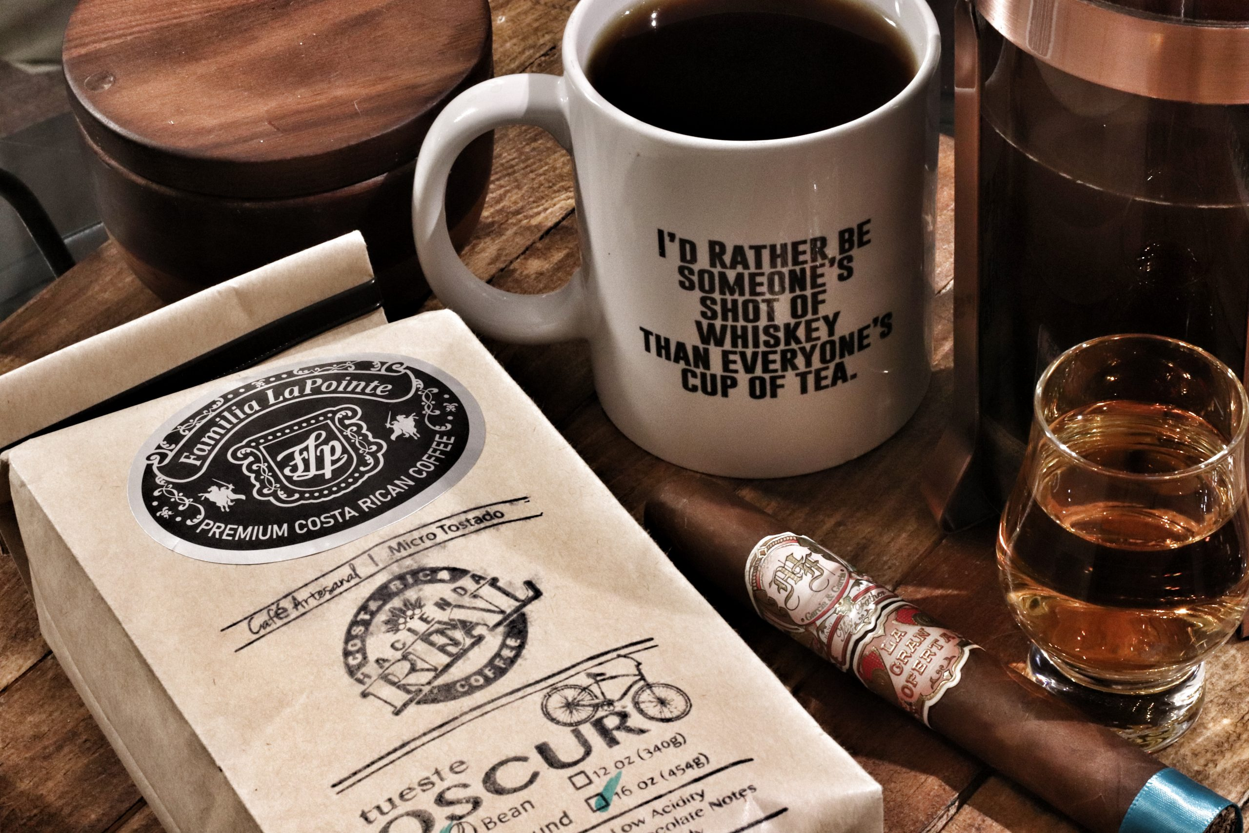 Familia LaPointe Coffee & My Father – The Gran Oferta by Josh Ward (The Whisky Heathens)