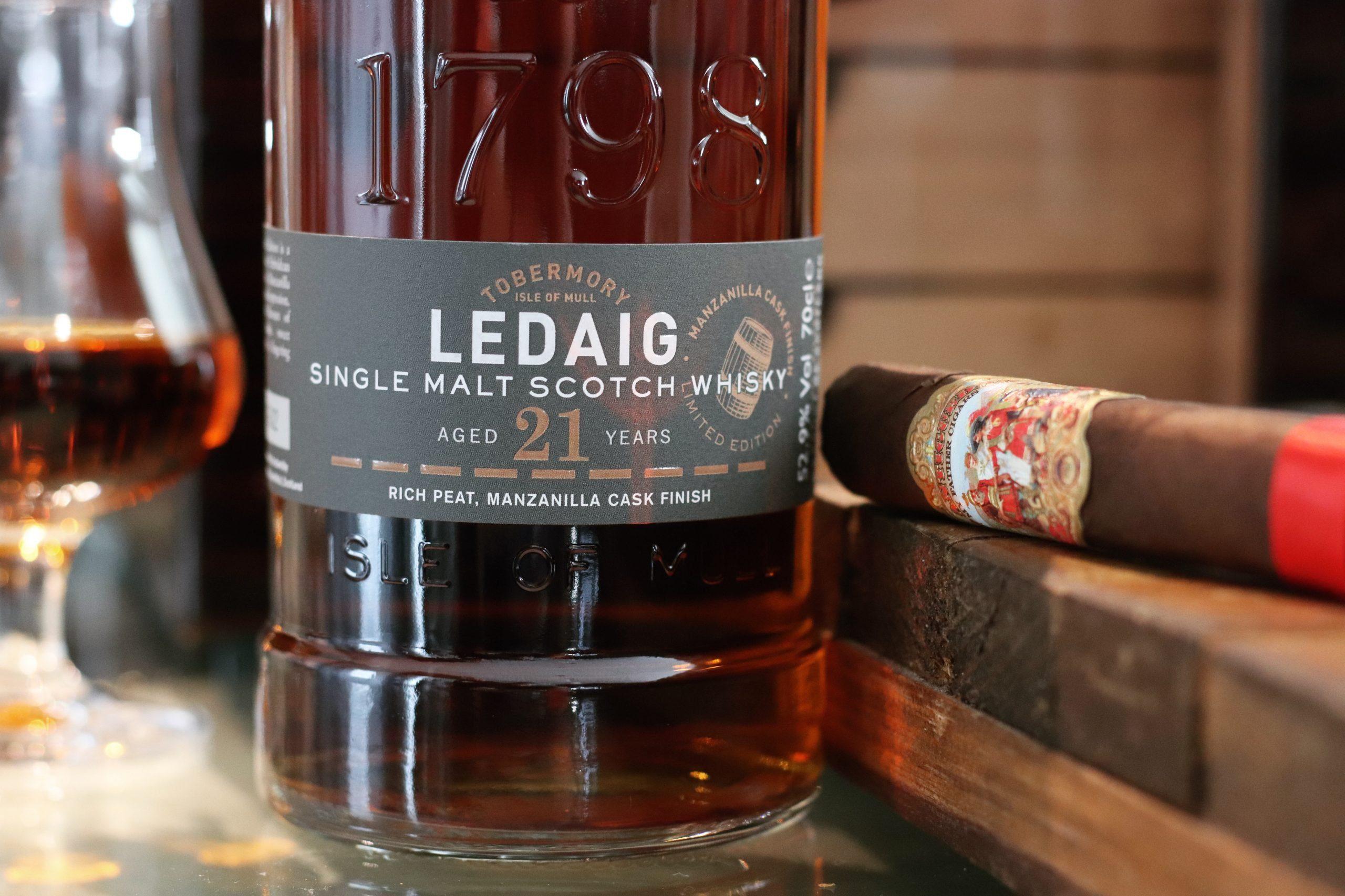 Whisky Heathens Pairing: Ledaig 21 Manzanilla & My Father – La Antiguedad
