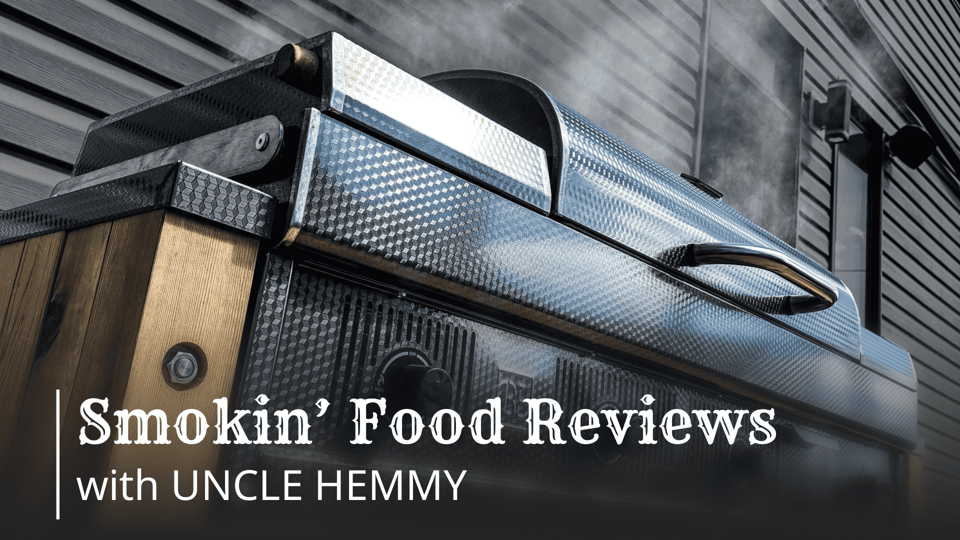 Smoked brisket, Uncle Hemmy style!! Smokin' Food Reviews with Uncle Hemmy