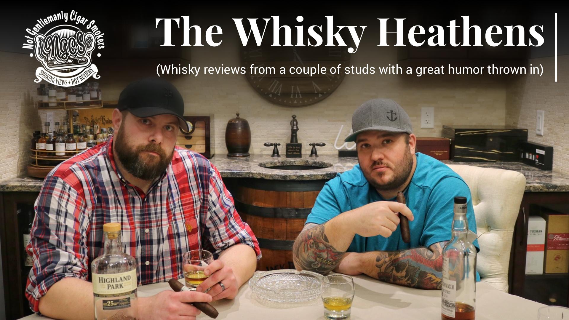 Whisky Heathens Pairing: Taconic Distillery Straight Bourbon Whiskey & Alec Bradley's Magic Toast